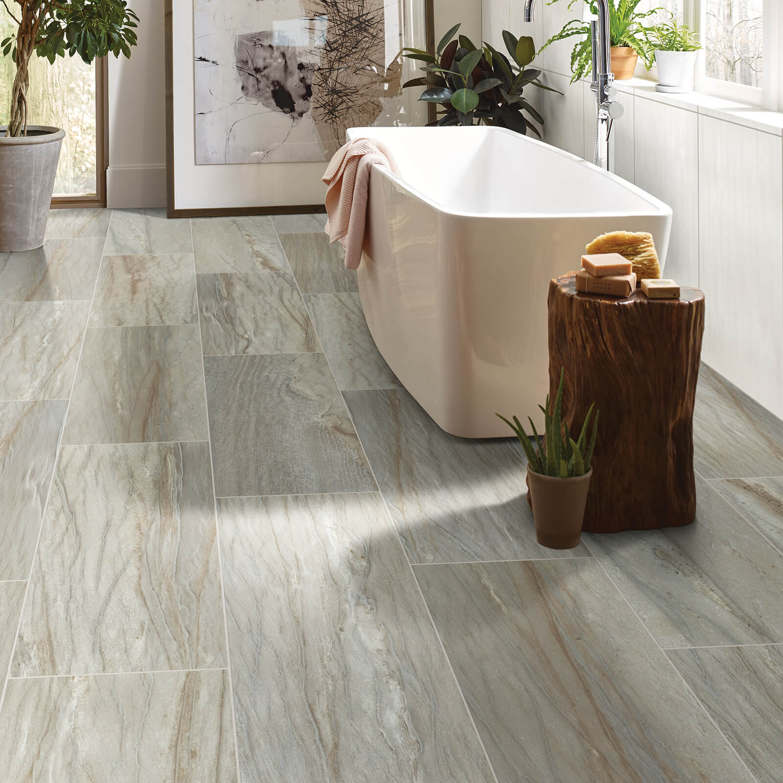 Sanctuary bathroom | Flooring 101