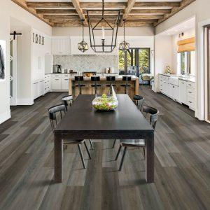 Dining room with laminate flooring   Flooring 101