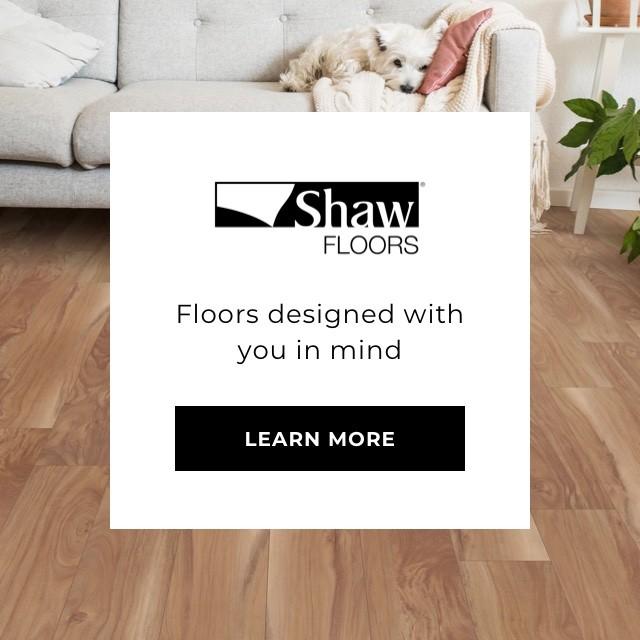 Shaw Floors - Stylish and waterproof flooring