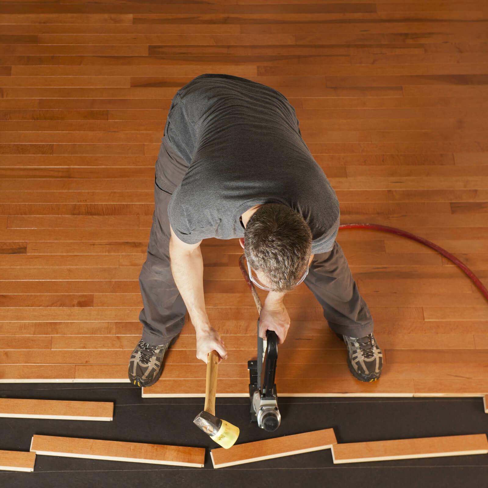 Hardwood floor installation | Flooring 101