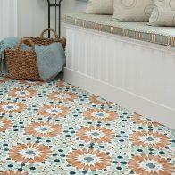 Tile design in a mud room  Flooring 101