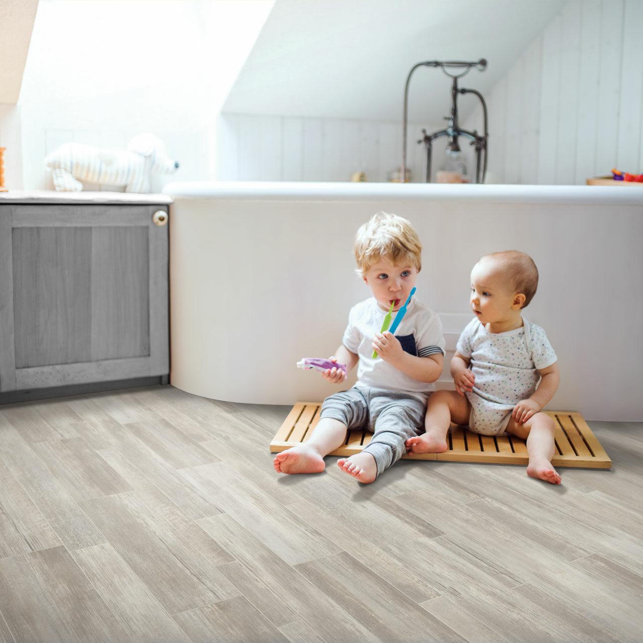 Kids playing on floor | Flooring 101
